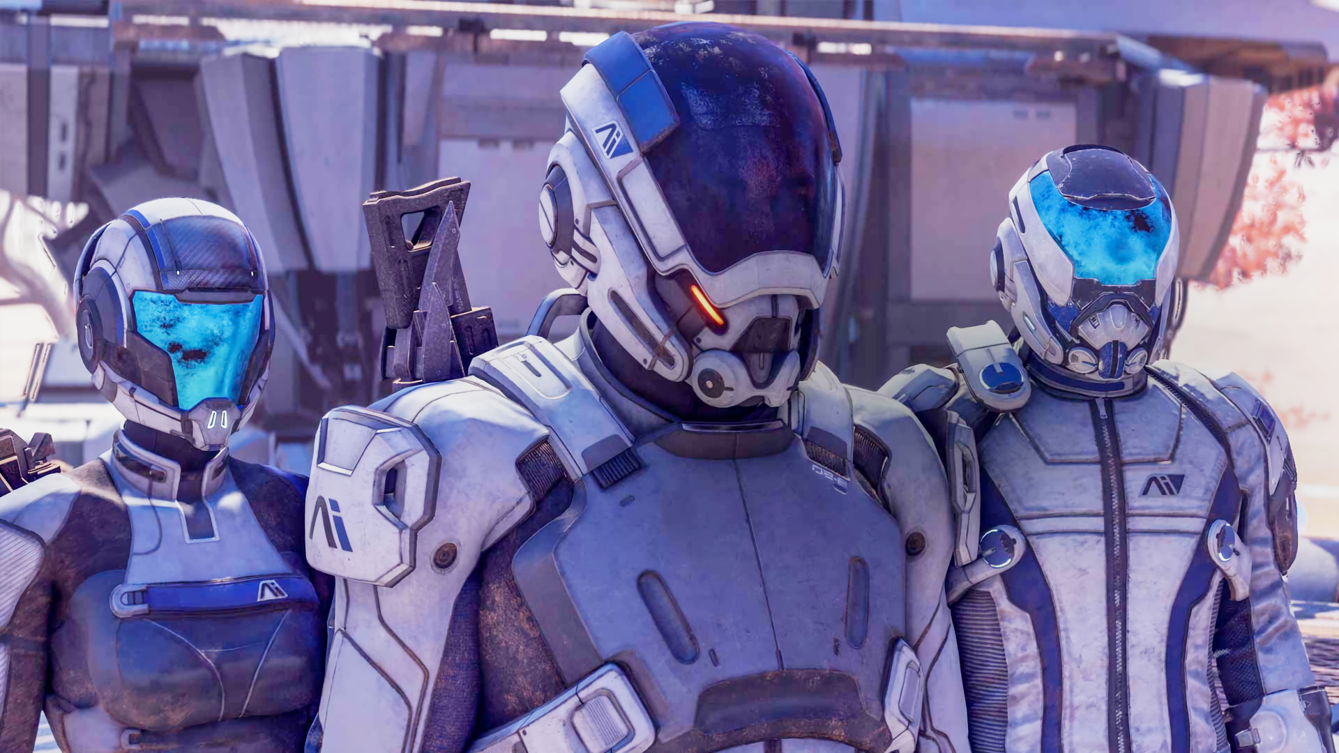 Mass Effect Andromeda costumes