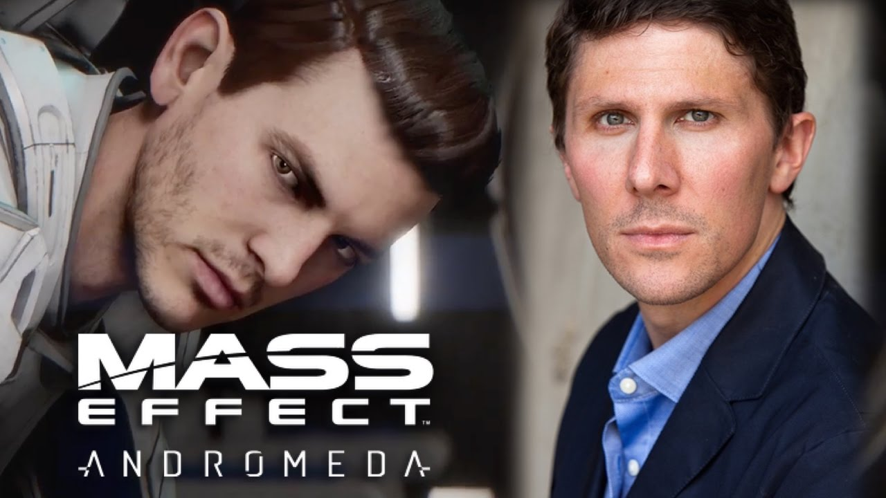 Mass Effect Andromeda voice actor